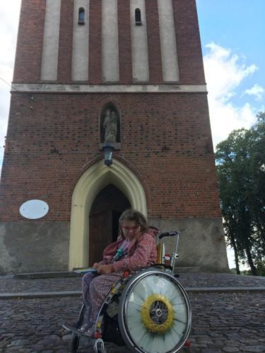 Marysia w Gietrzwałd